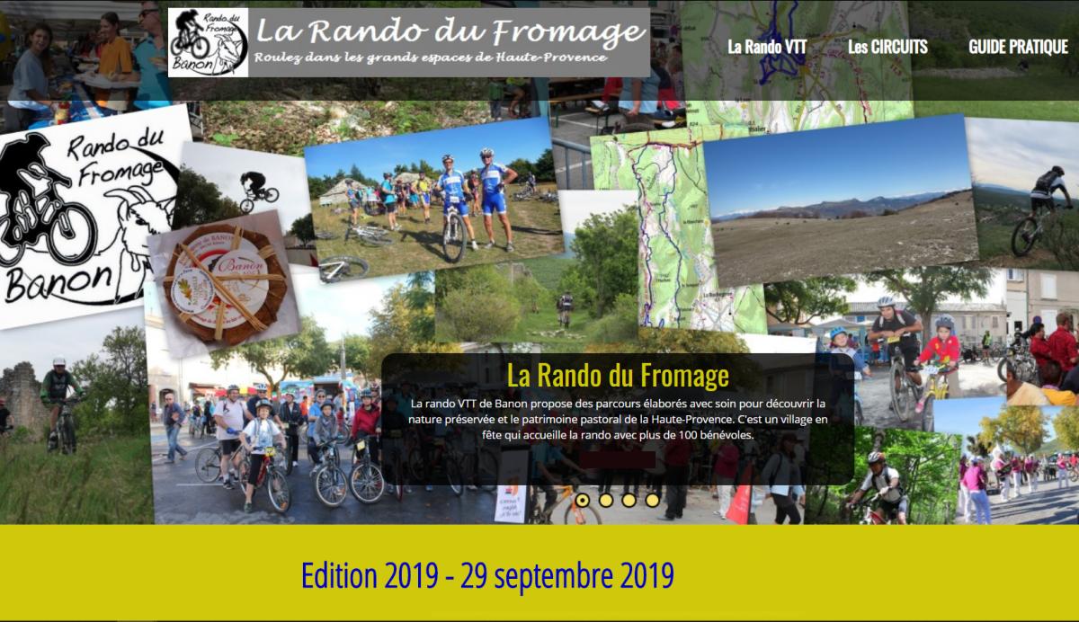 La Rando du Fromage 2019_Affiche