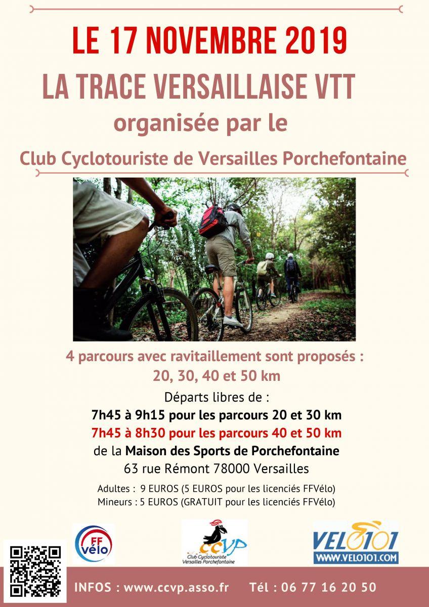 La Trace Versaillaise VTT 2019_Acceuil