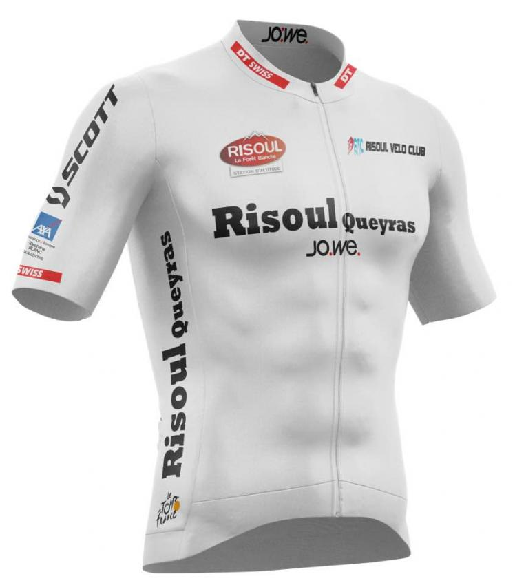 Le maillot blanc obligatoire de la Risoul-Queyras