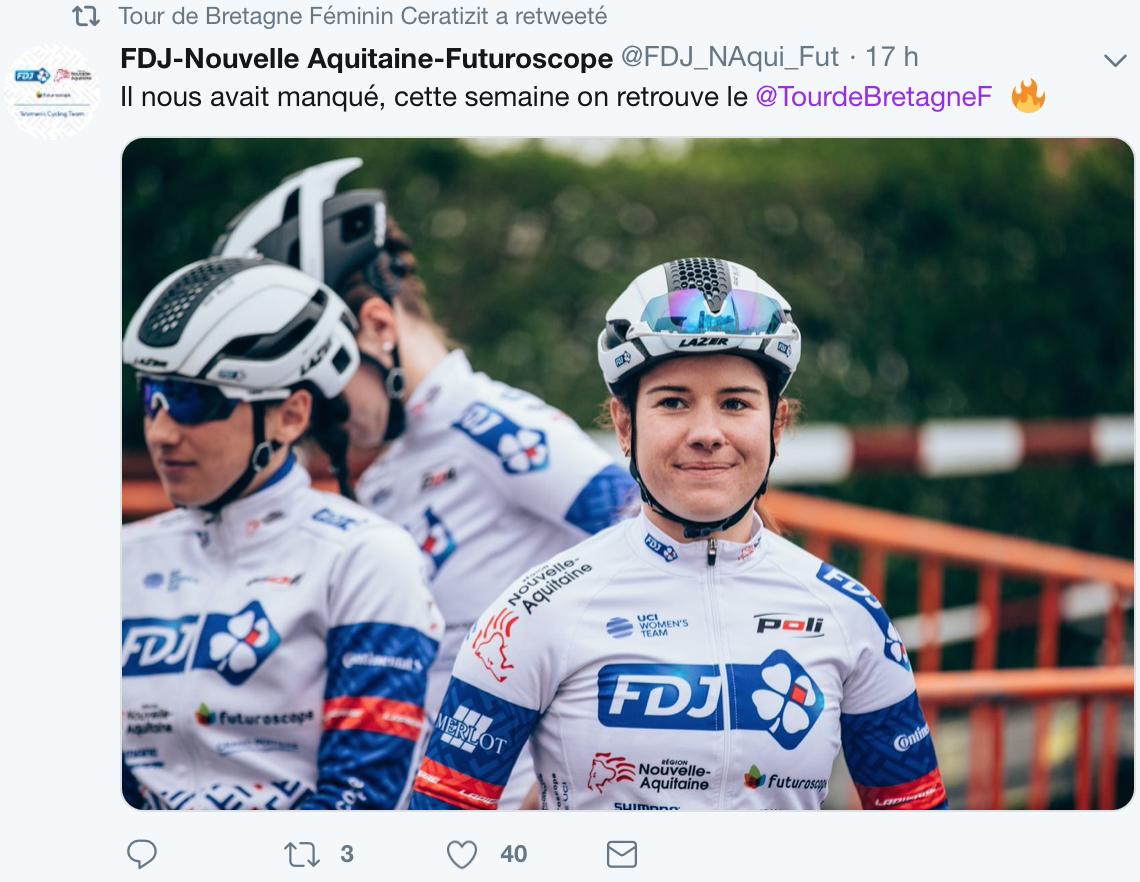Le retour du Tour de Bretagne Féminin dès demain