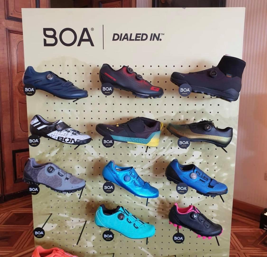 Le stand Boa à Eurobike