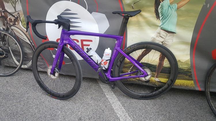 Le vélo Specialized de Sylvain Chavanel en 2019