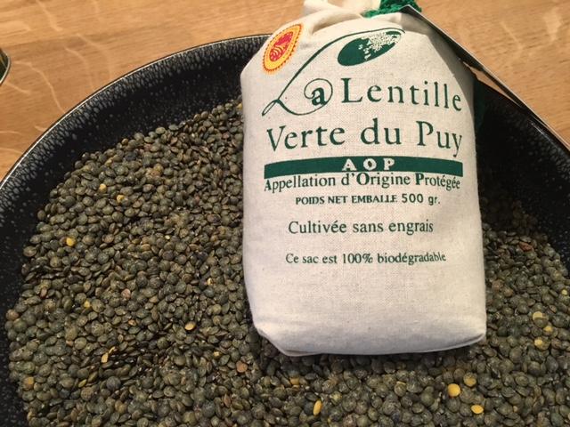 Lentilles vertes du Puy