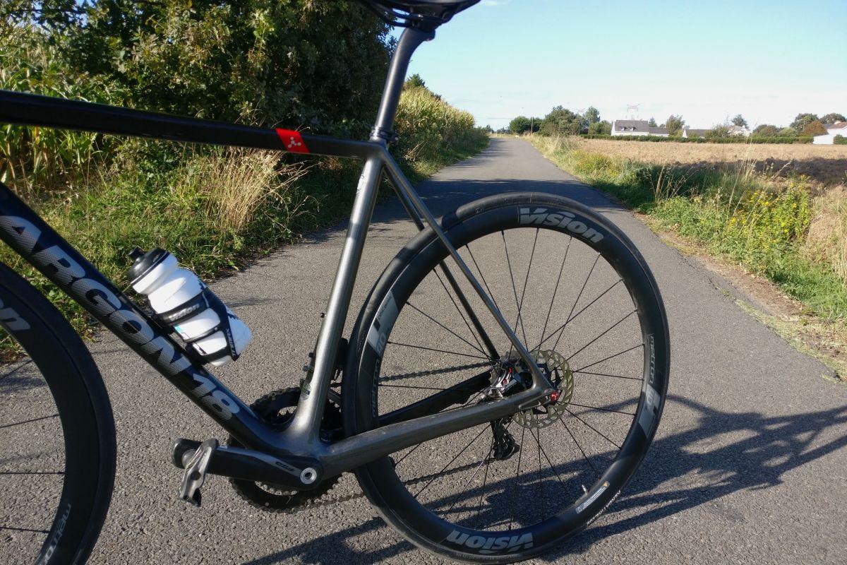 Les bases longues du Gallium Pro Disc apportent du confort au vélo