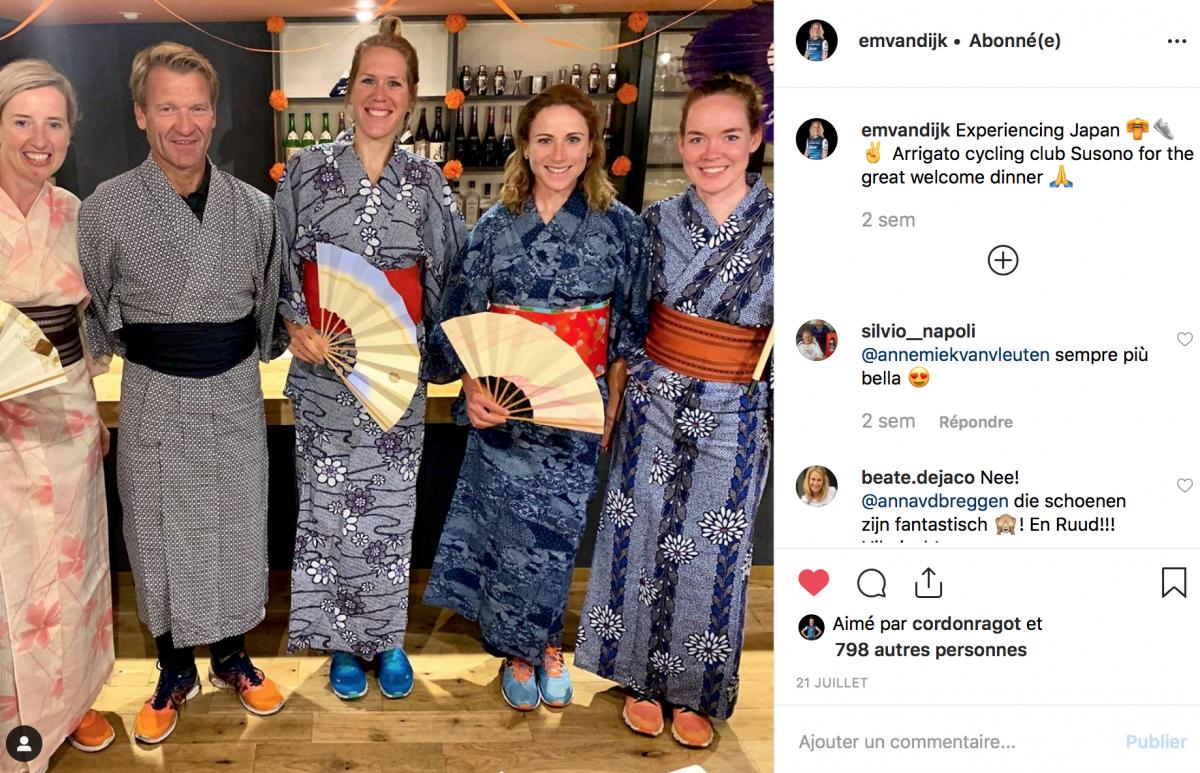 Les Néerlandaises au Japon