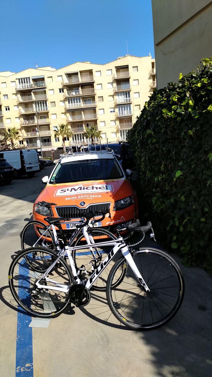 Les nouveaux vélos des équipes amateurs