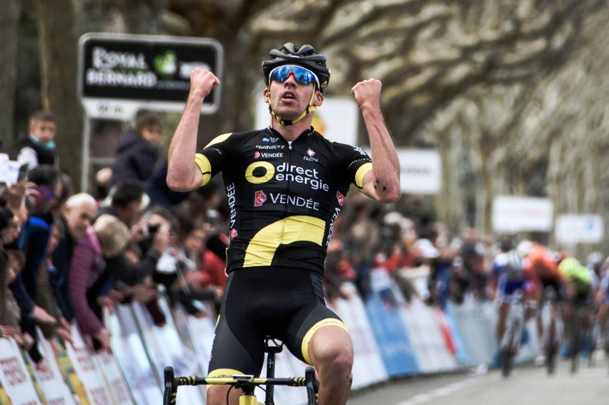 Lilian Calmejane remporte la Classic de l'Ardèche