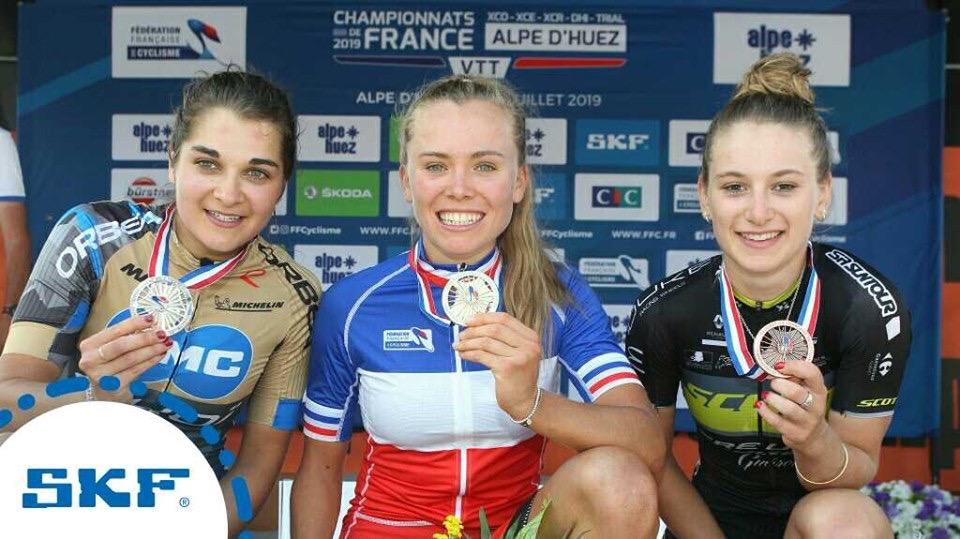 Loana Lecomte décroche son premier titre de Championne de France