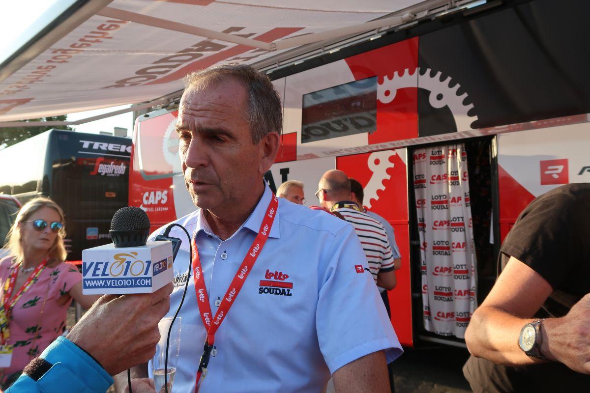 Marc Sergent en interview