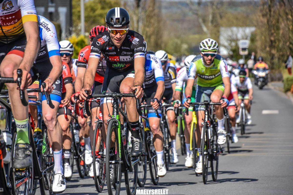 Mathieu Morichon en course