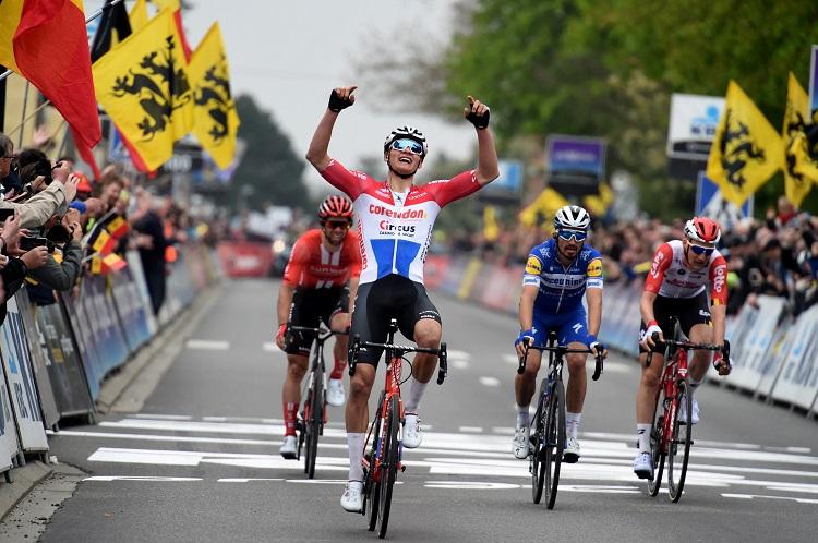 Mathieu Van der Poel victorieux sur la Flèche Brabançonne