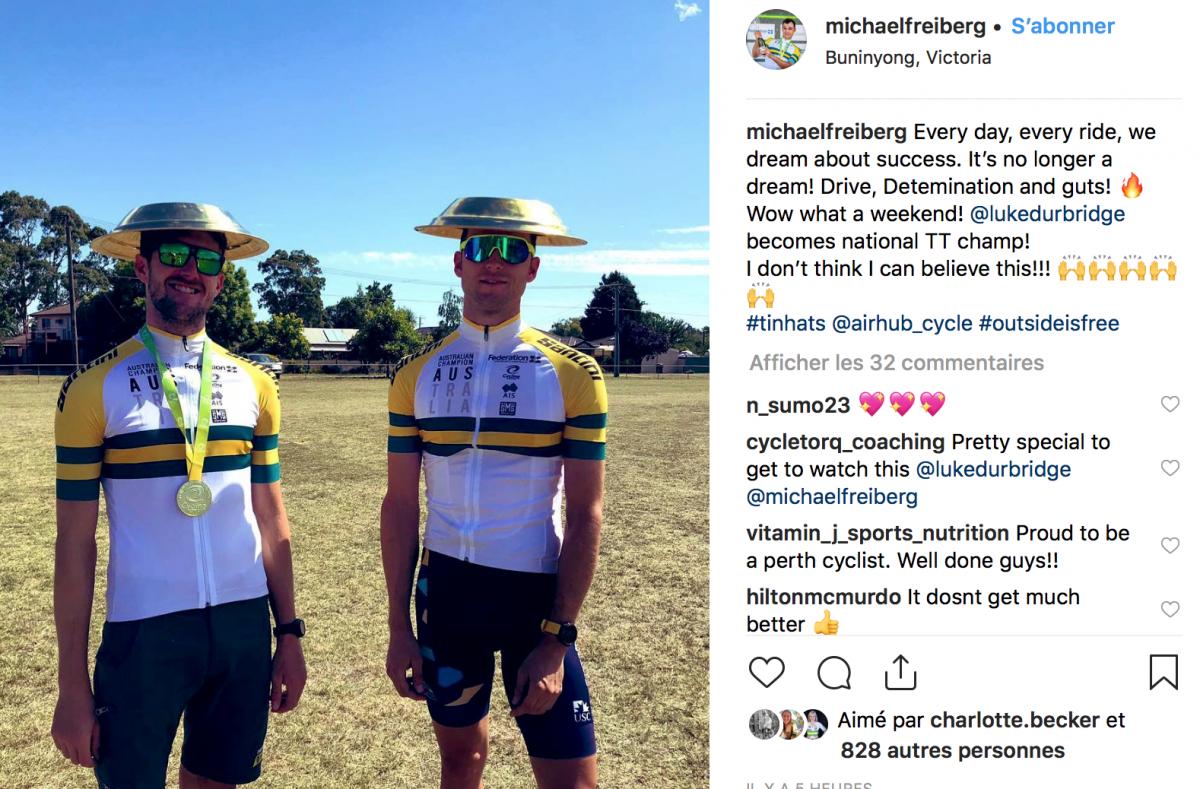 Michael Freiberg Champion Australie 2019