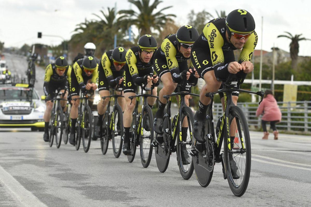 Michelton-Scott s'impose à l'issue des 21,5km de CLM par équipes