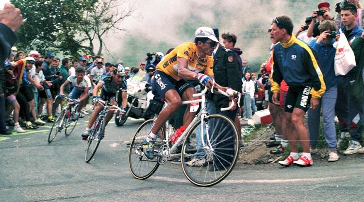 Miguel Indurain sur le Tour 1995