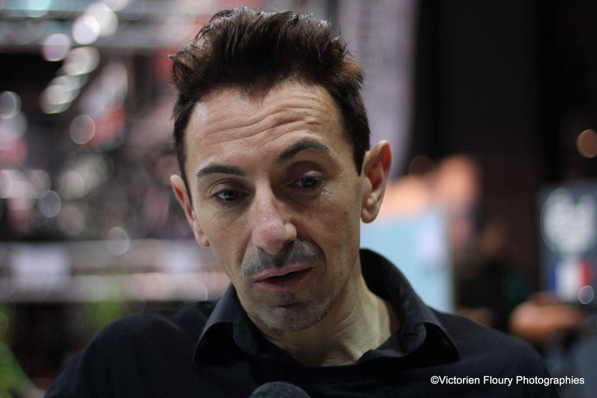 Miguel Martinez au micro de Velo101