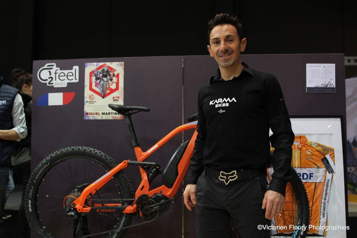 Miguel Martinez la promotion de l'Electrique