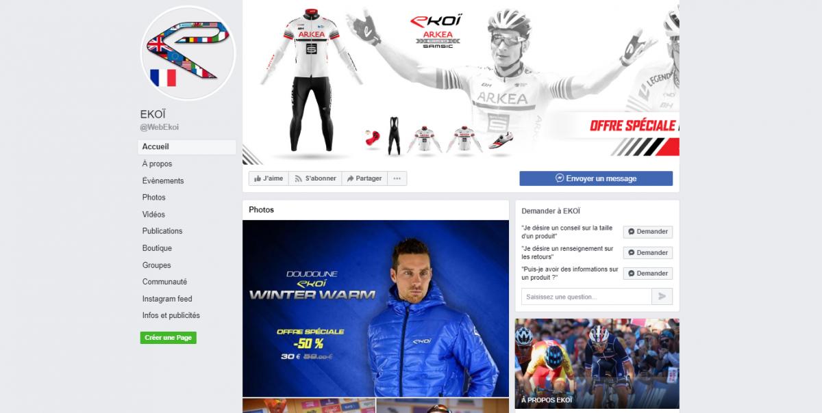 Page Facebook Ekoi