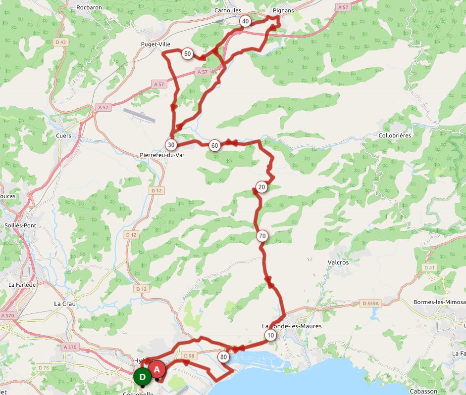 Parcours Azur 2019
