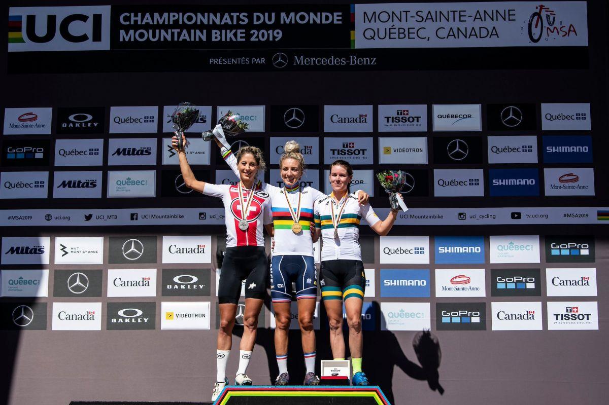 Pauline Ferrand Prevot Championne du Monde Elites