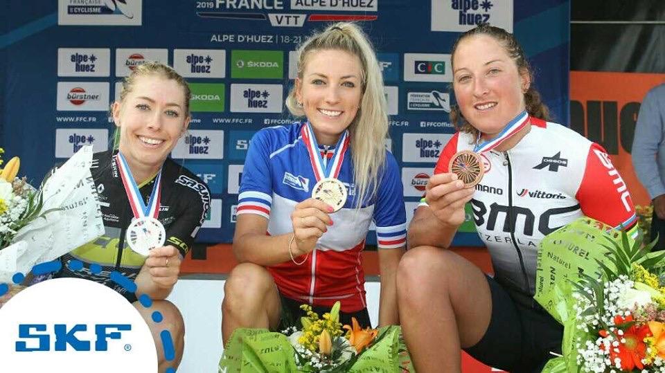 Pauline Ferrand-Prevot obtient son sixième titre national en VTT