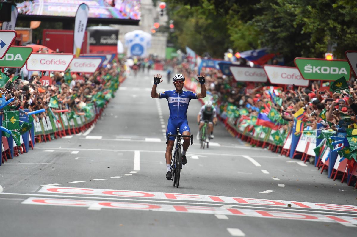 Philippe Gilbert, pour sa 10e victoire sur un grand Tour