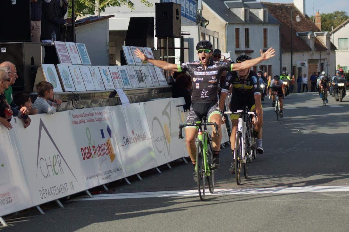 Pierre Crema remporte l'ultime manche de la Coupe de France des DN3