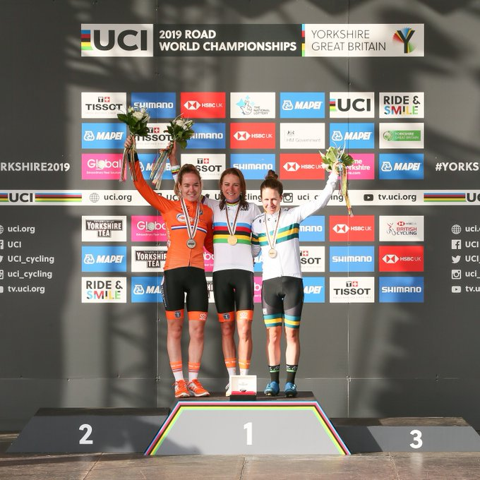 Podium Elites Femmes Yorkshire