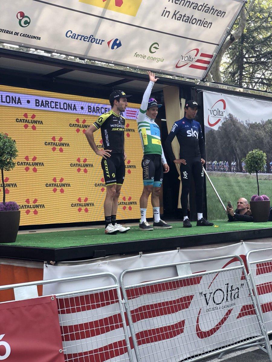 Podium généra Tour de Catalogne