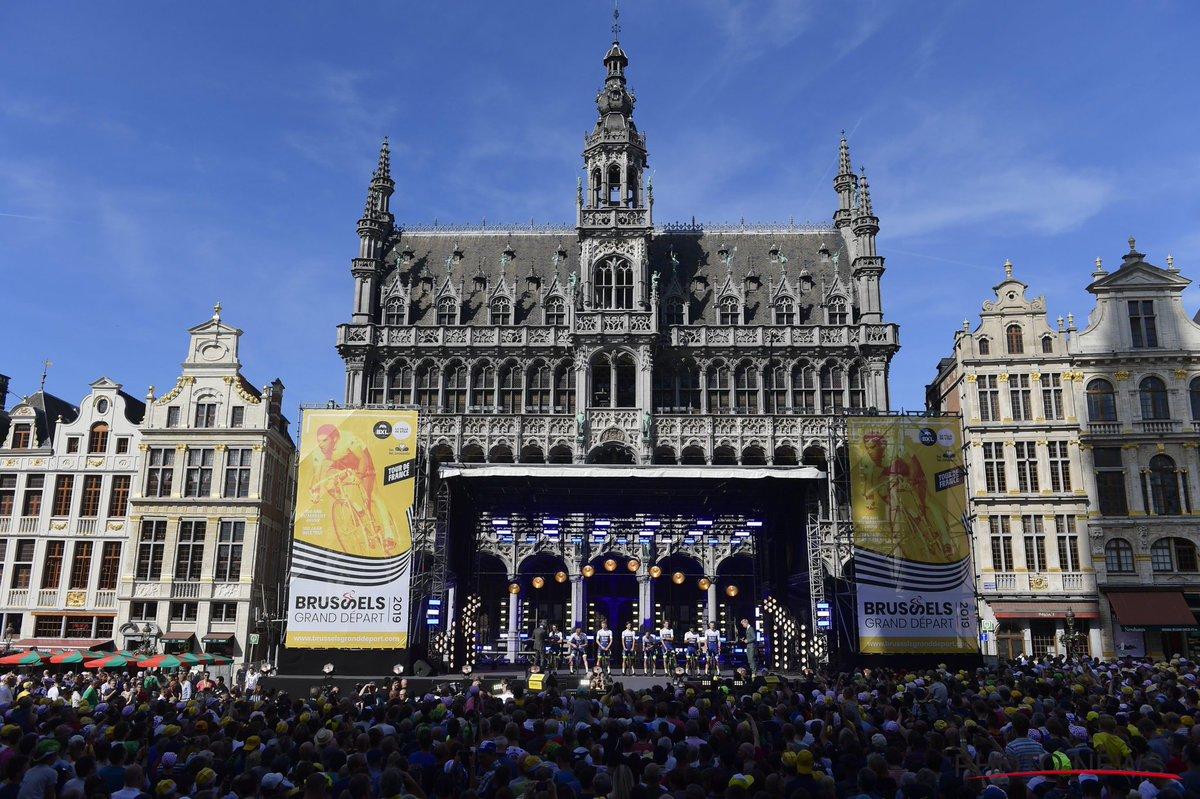 Présentation des équipes à Bruxelles