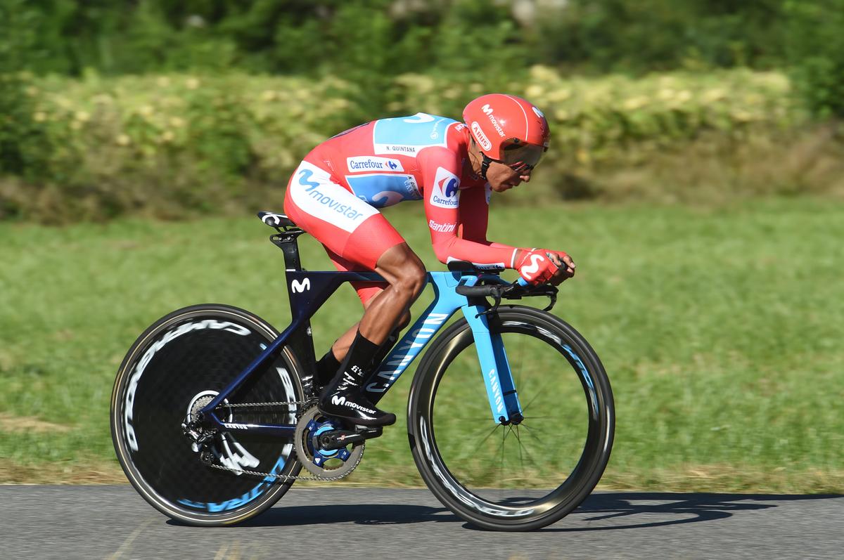 Quintana va perdre son maillot rouge