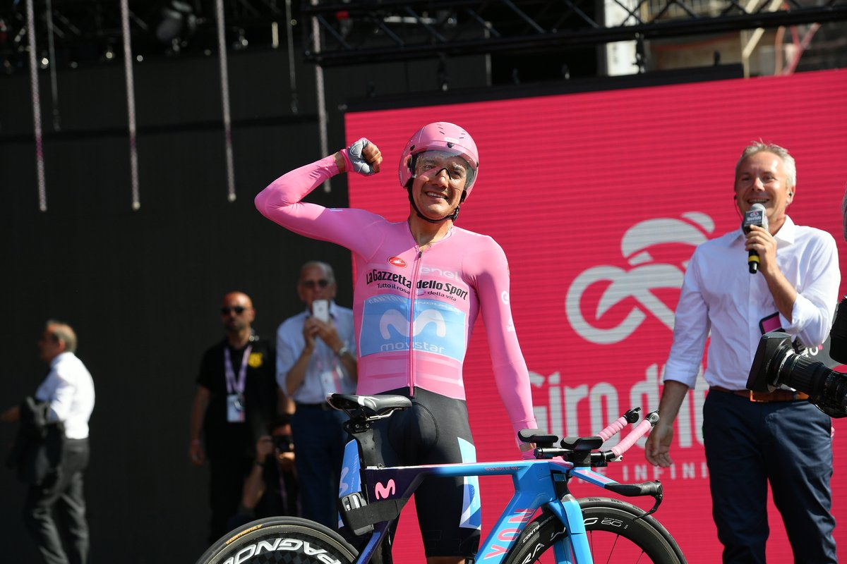 Richard Carapaz remporte le Giro