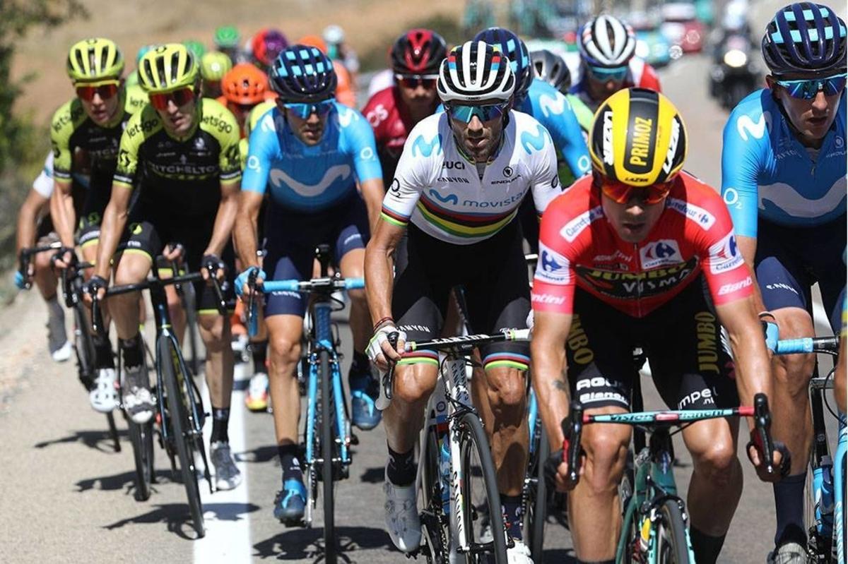 Roglic et Valverde piégés