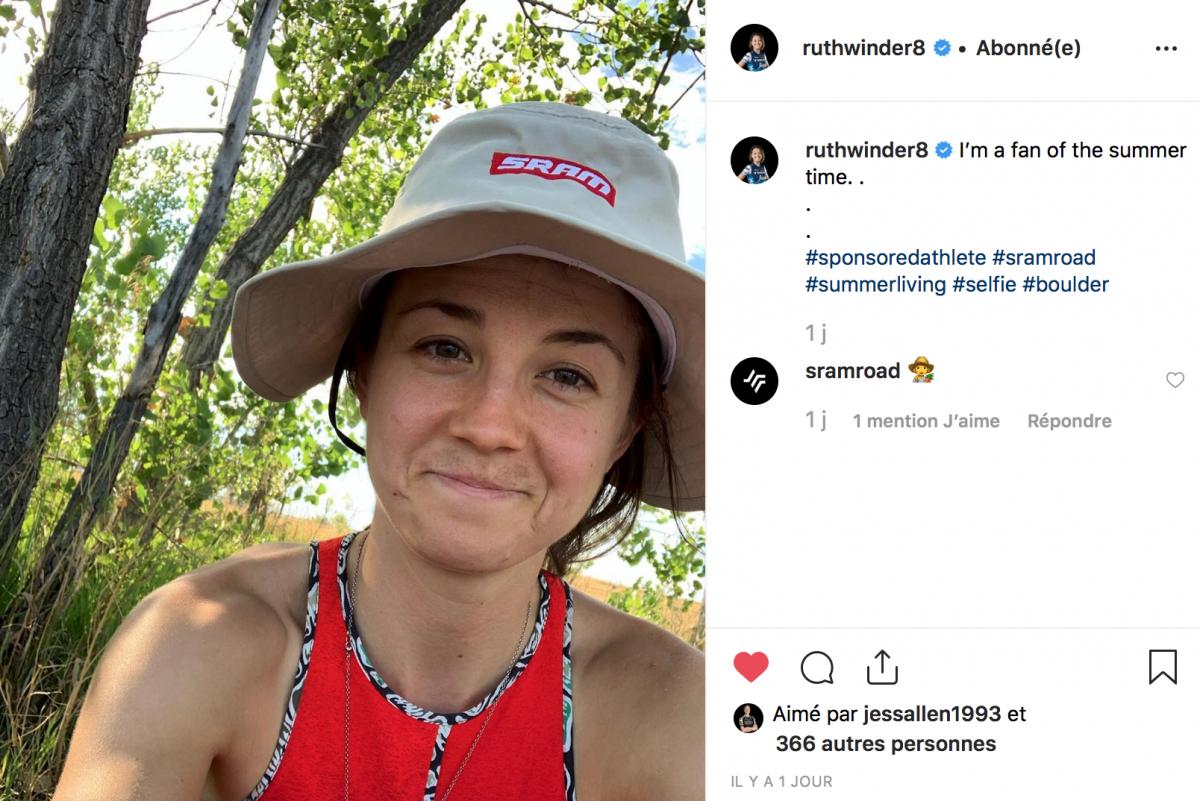 Ruth Winder à la cool