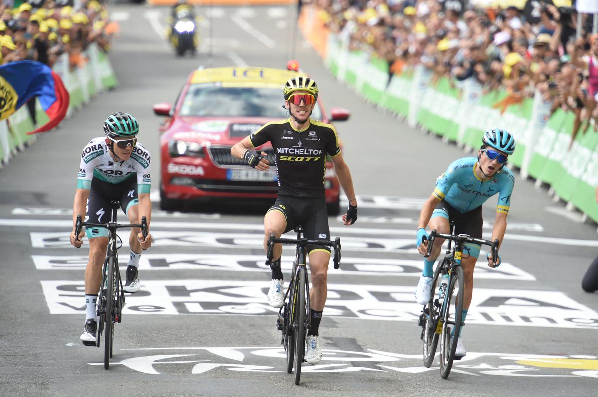 Simon Yates vainqueur de cette 12e étape