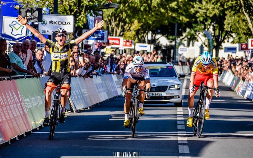 Théo Delacroix Champion de France espoirs