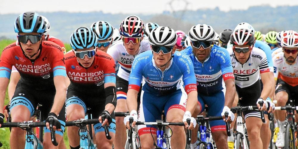 Thomas Boudat actuellement sur le Tour de Wallonie