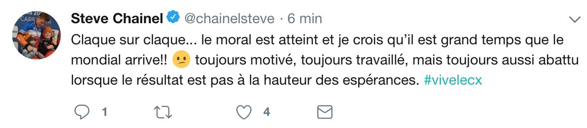 Tweet S.Chainel