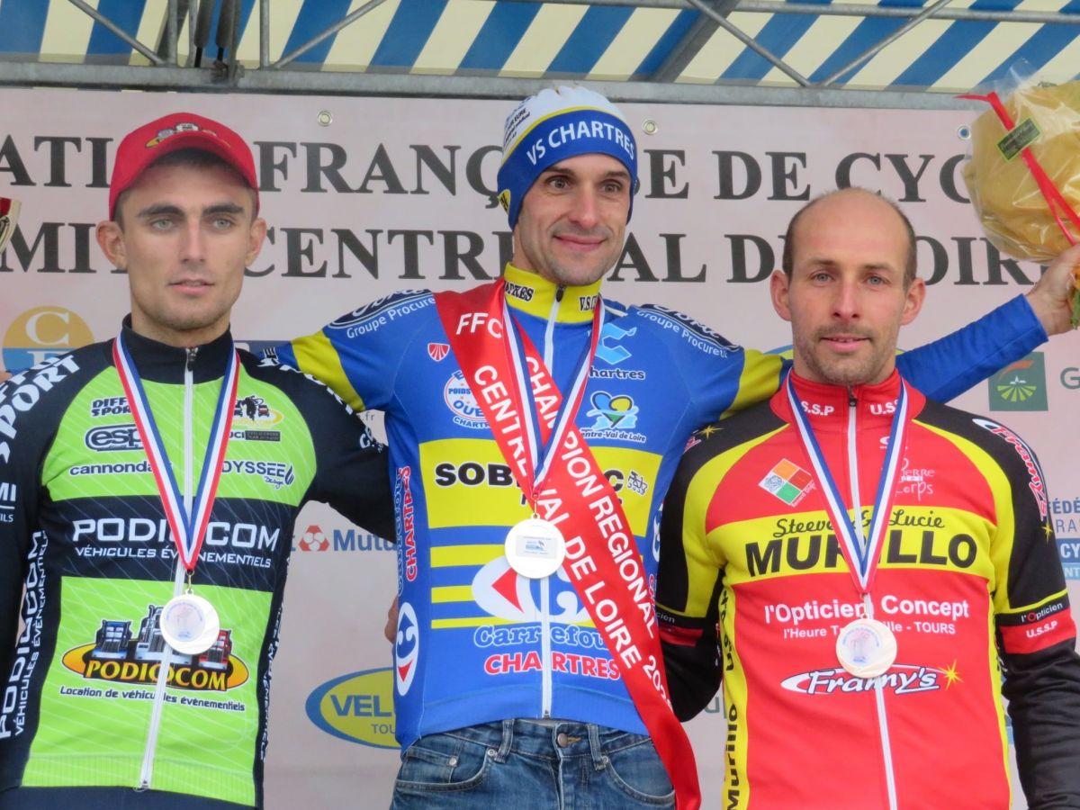 Valentin Cosnier, Champion de France master remporte le titre régional