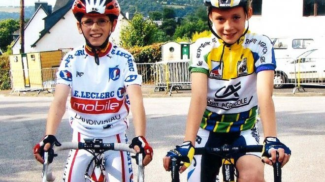 Valentin Madouas (à droite) et David Gaudu (à gauche) : deux talents qui se fréquentent depuis le plus jeune âge