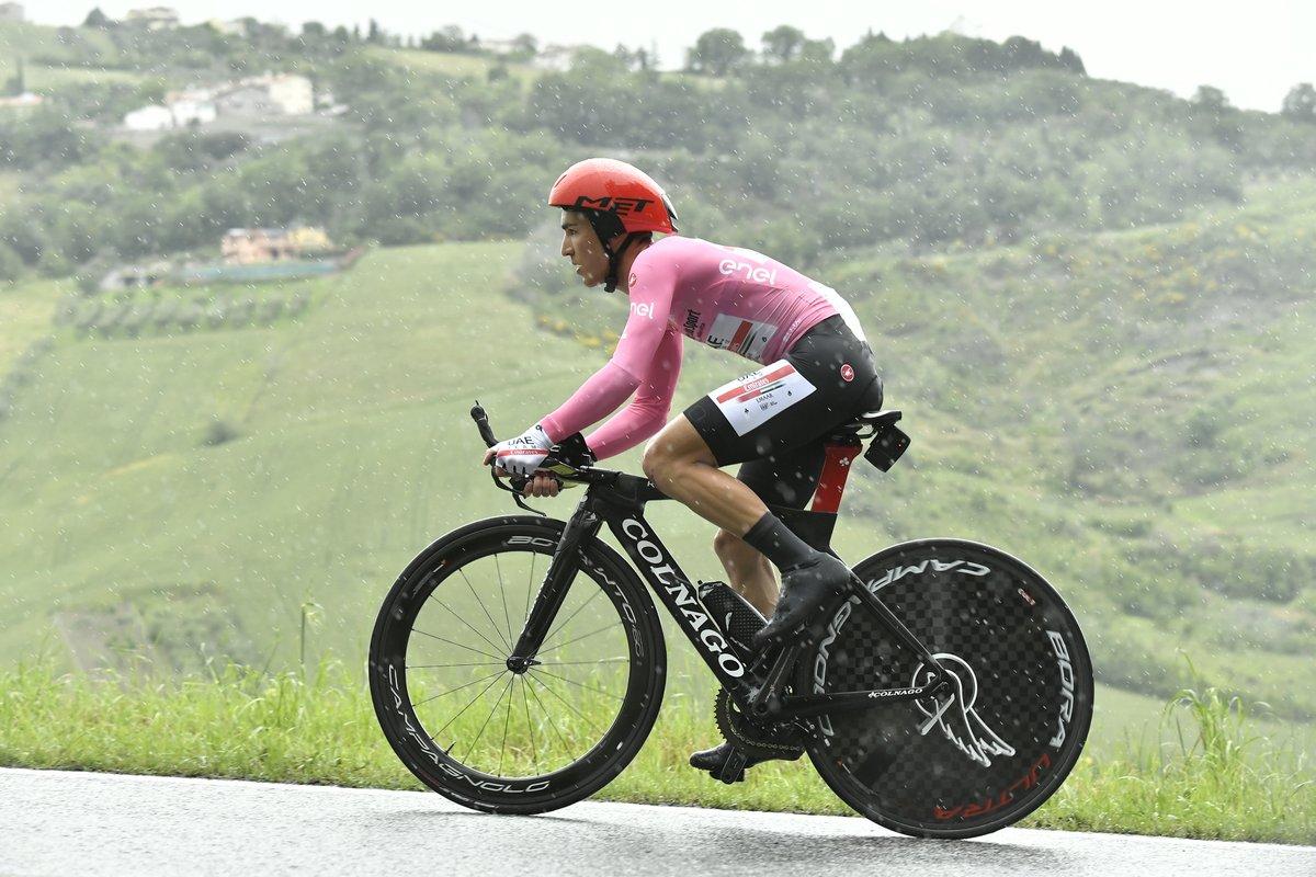 Valerio Conti sous le déluge
