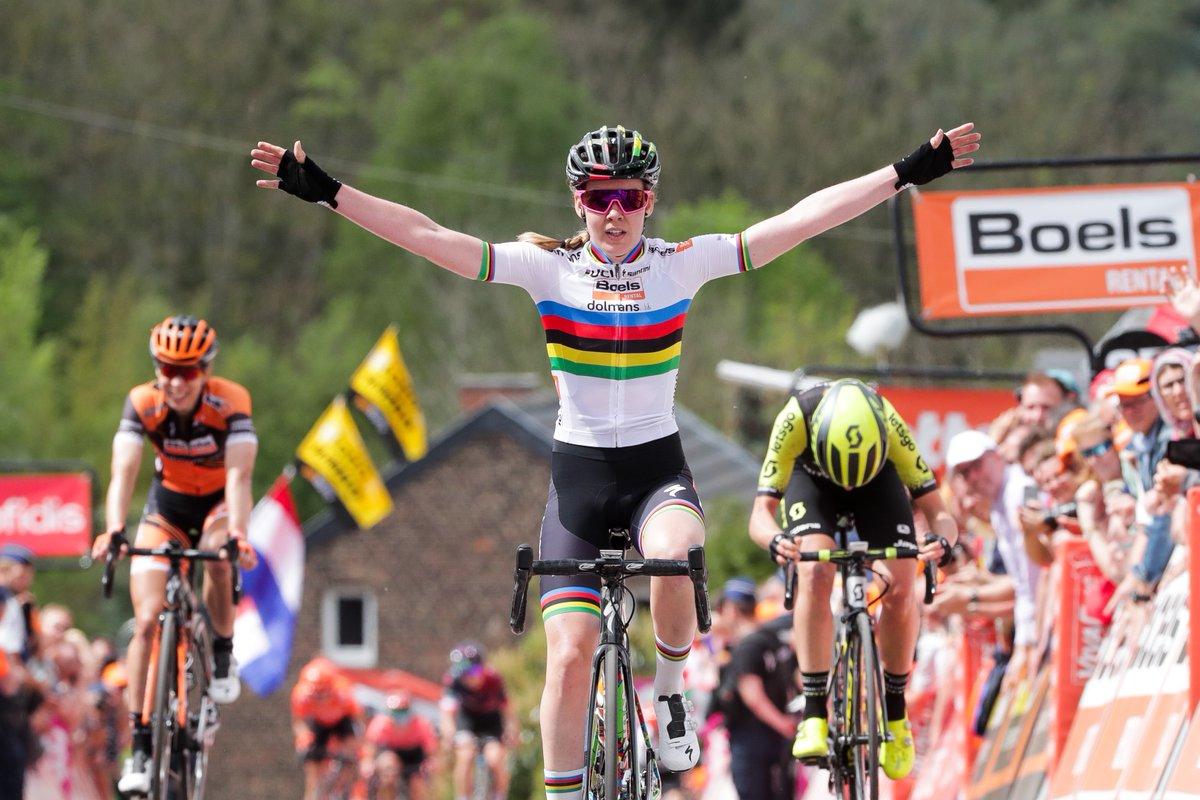 Van der Breggen pour la 5ème fois