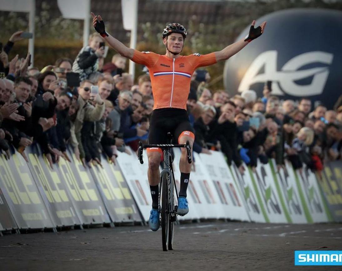 Van der Poel 100 victoires