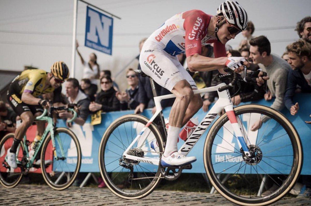 Van der Poel au Tour des Flandres