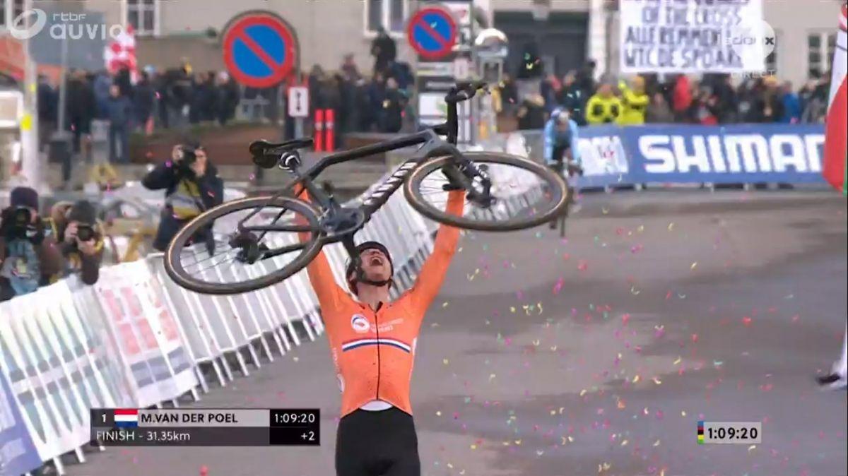 Van der Poel champion du monde
