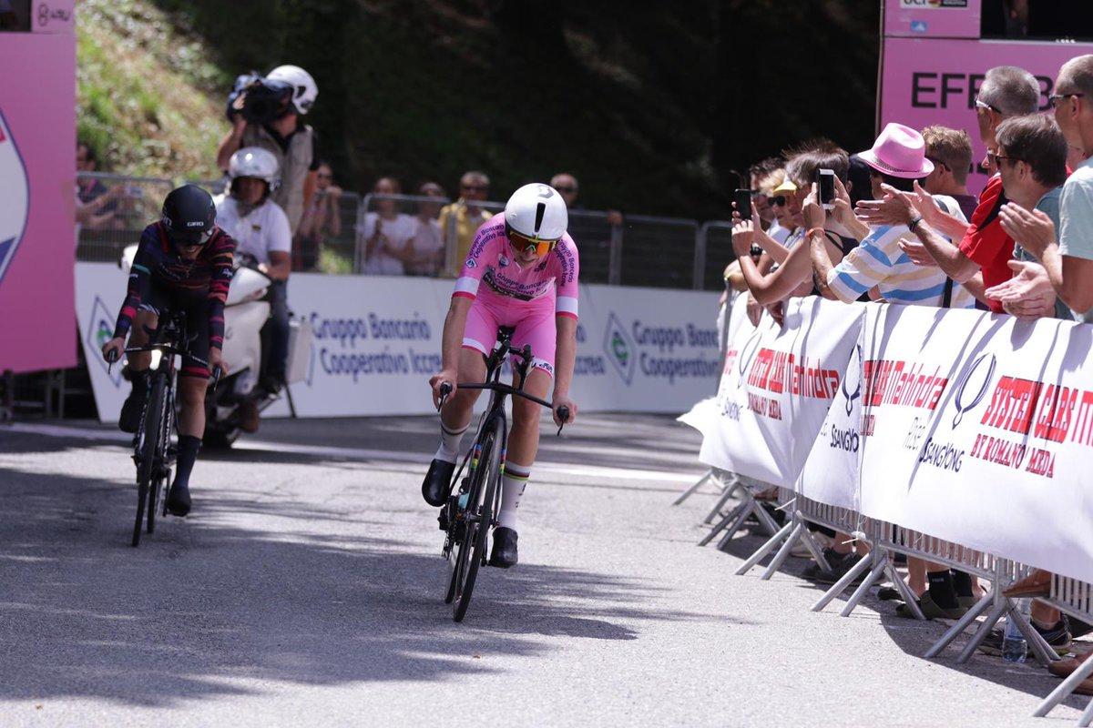 Van Vleuten remporte le contre-la-montre du Giro Rosa