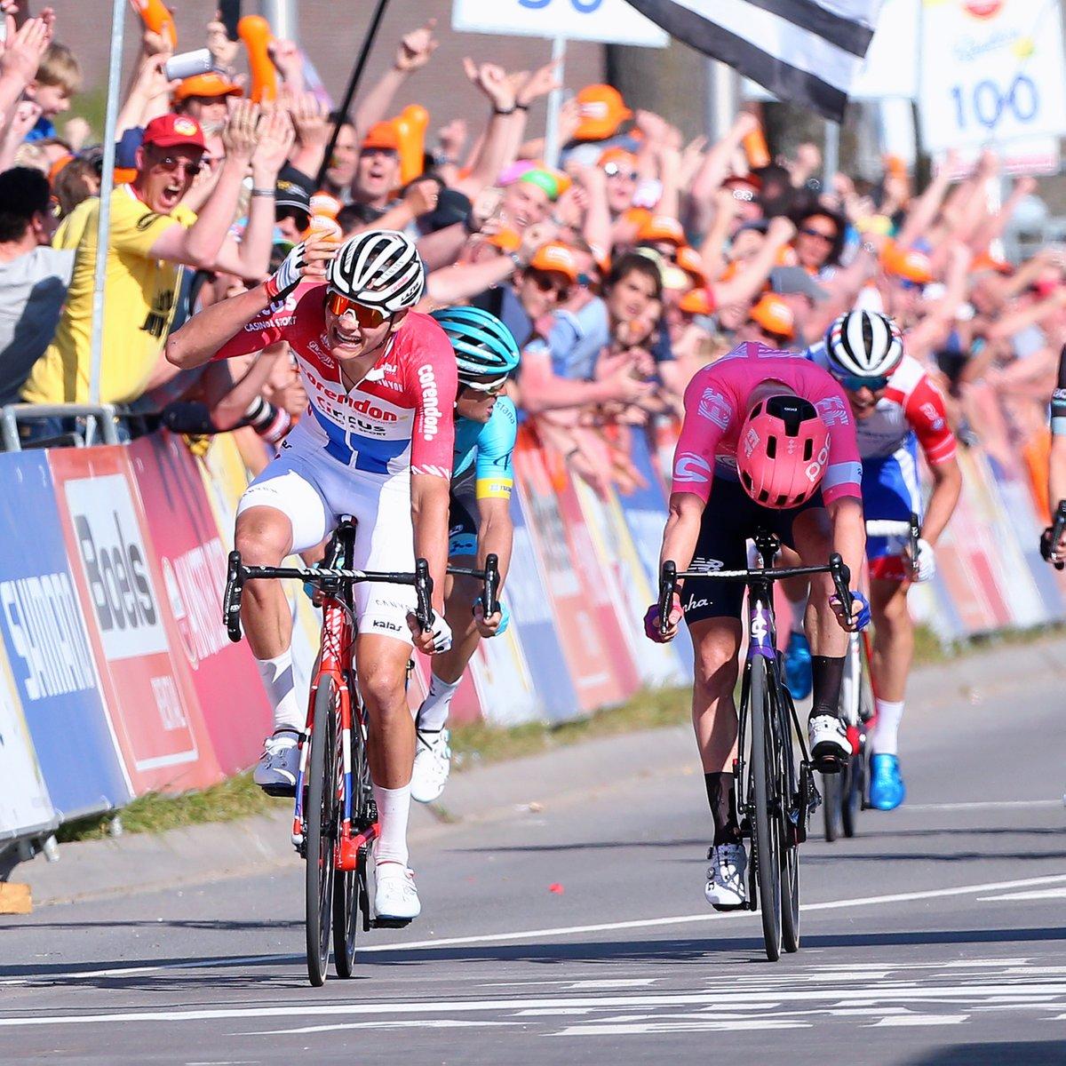 Victoire de VDP sur l'Amstel