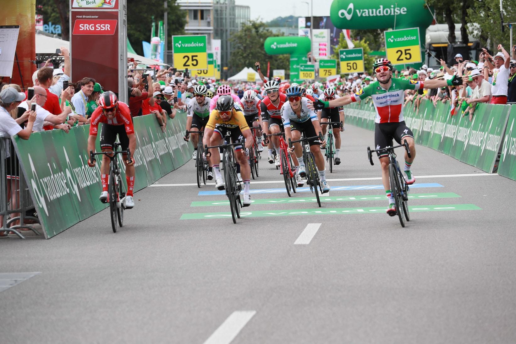 Tour de Suisse : Viviani en démonstration, Thomas out