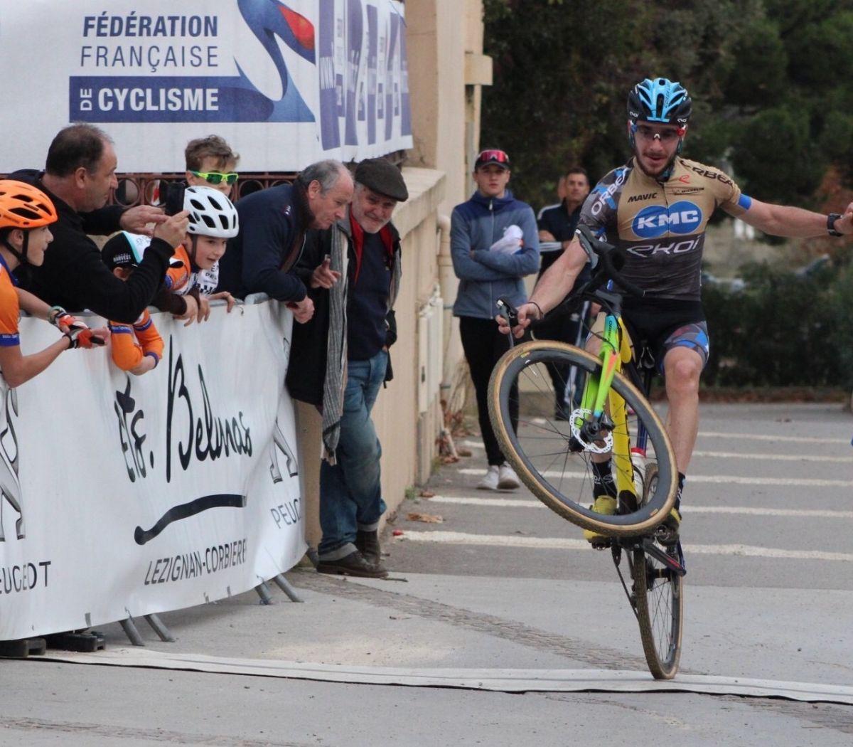 Victor Koretzky, le vététiste champion régional de cyclo cross