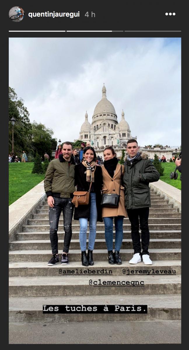 Week-end à Paris pour Quentin Jauregui