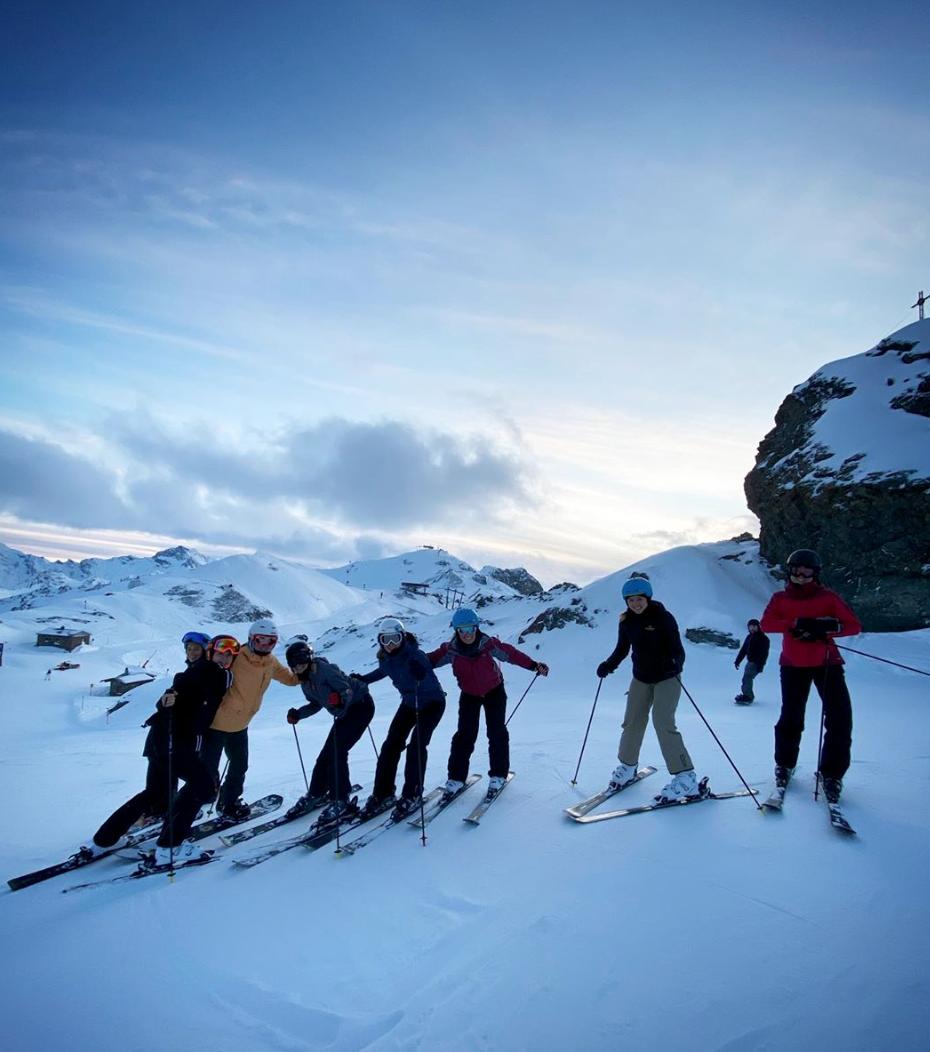 Week-end au ski pour la Boels Dolmans